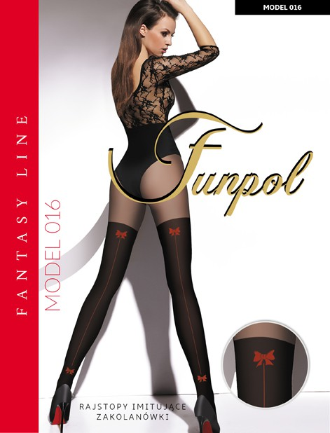 Rajstopy FUN-POL z serii EXCLUSIVE Line model 016