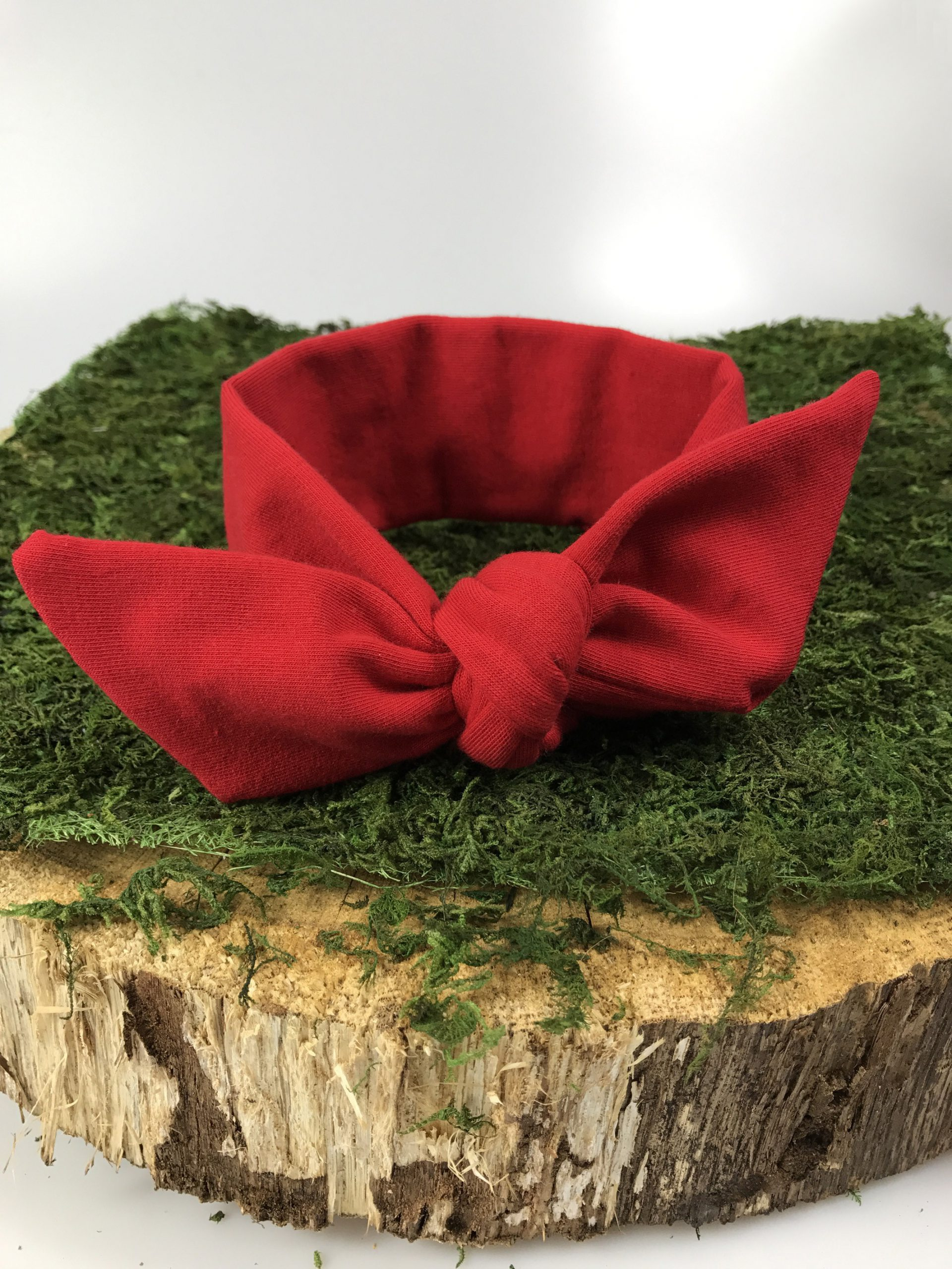 OPASKA PIN-UP kokardka dziecięca-kolor Czerwony