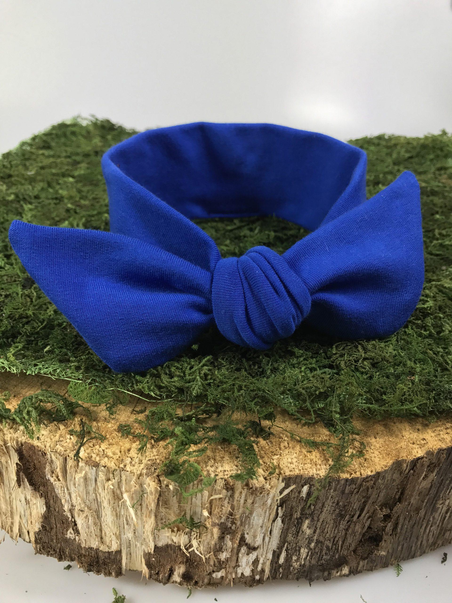 OPASKA PIN-UP kokardka dziecięca-kolor Niebieski