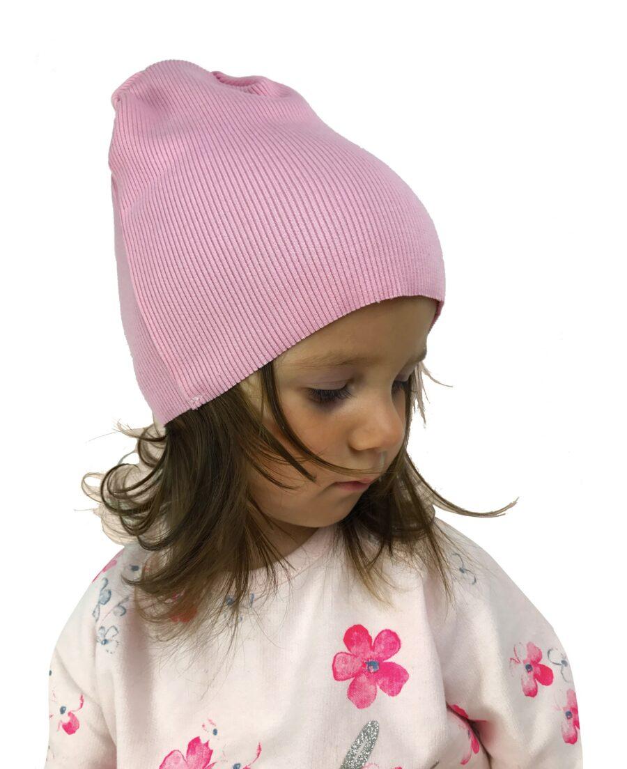 Hit sezonu Czapka dla dzieci kolor róż