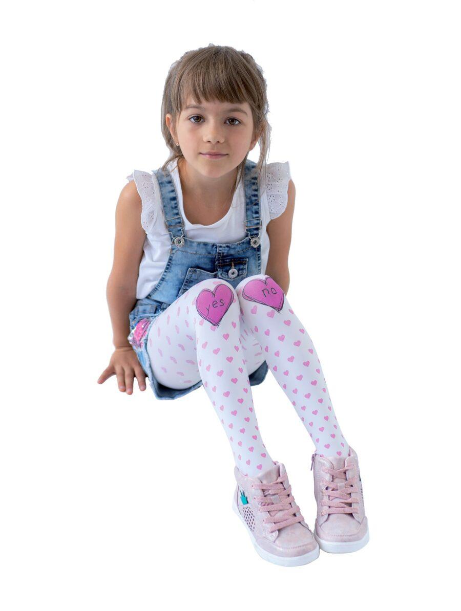 Rajstopy dziewczęce marki KNITTEX model YES/NO 40 DEN