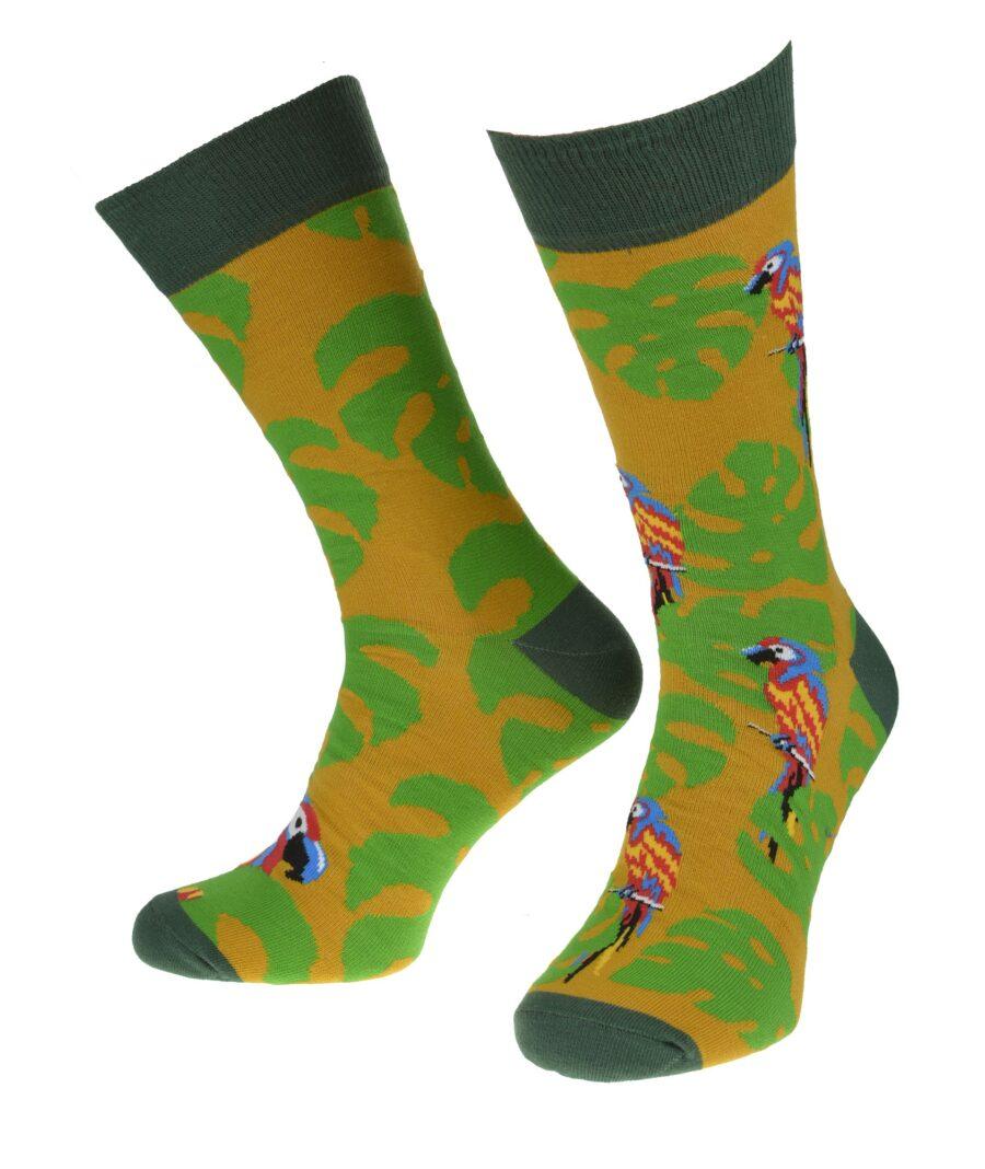 Skarpetki Milena AVANGARD męskie kolorowe wzór Safari