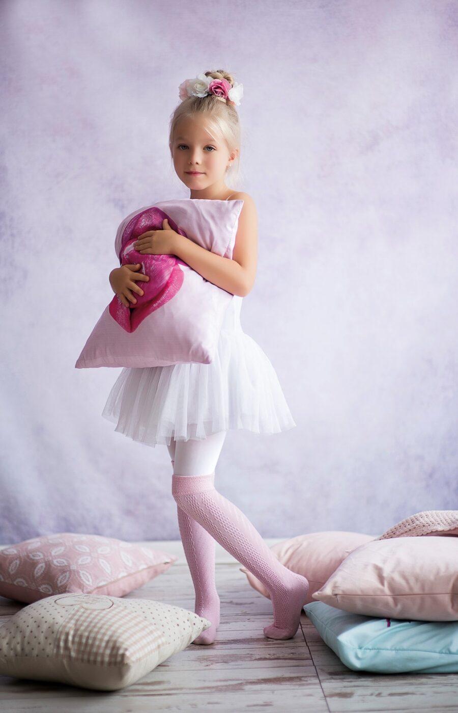 Zakolanówki dziewczęce KNITTEX model Bibi