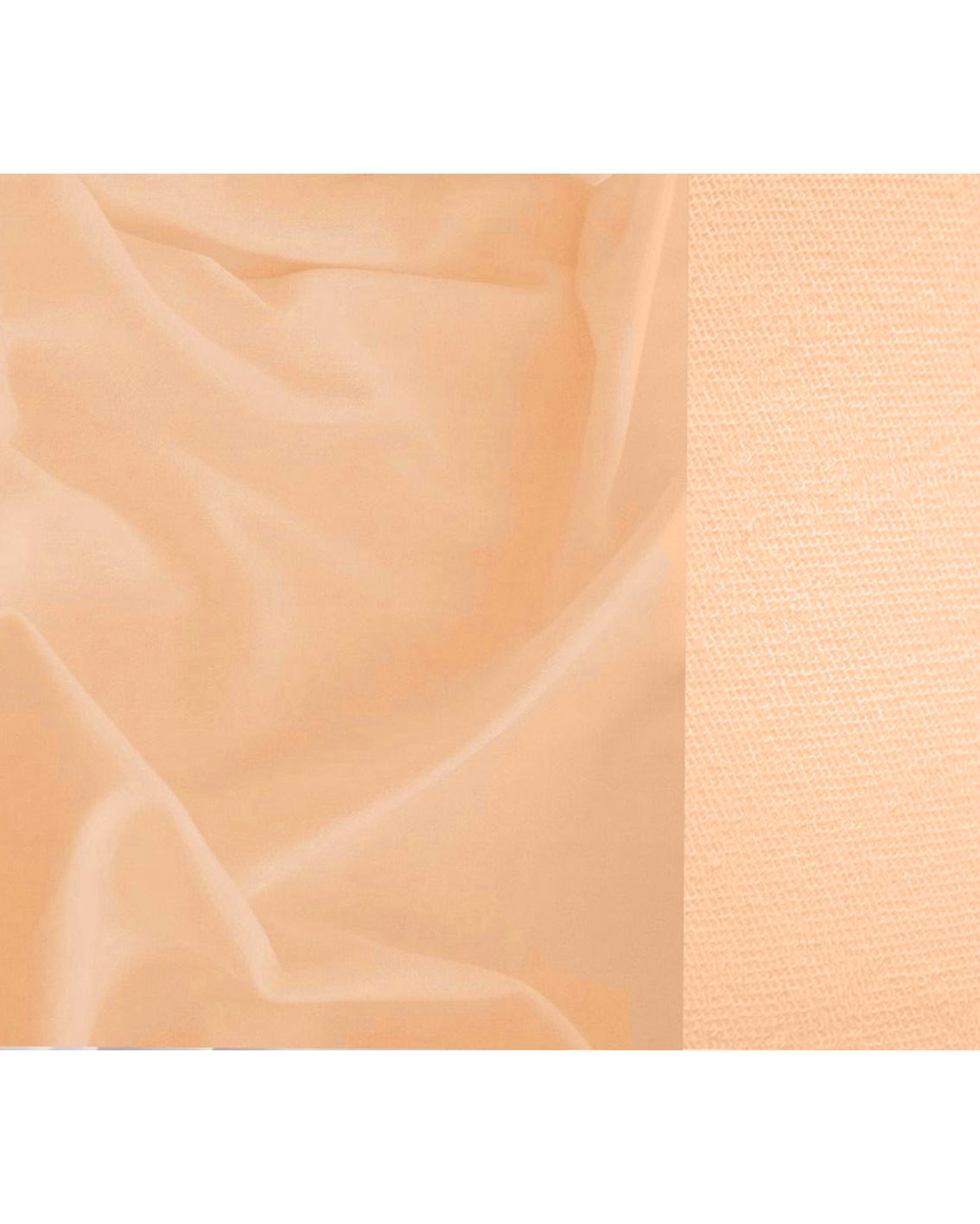 Bawełna pętelkowa typu dresówka. Kolor łososiowy. Gramatura 240g.