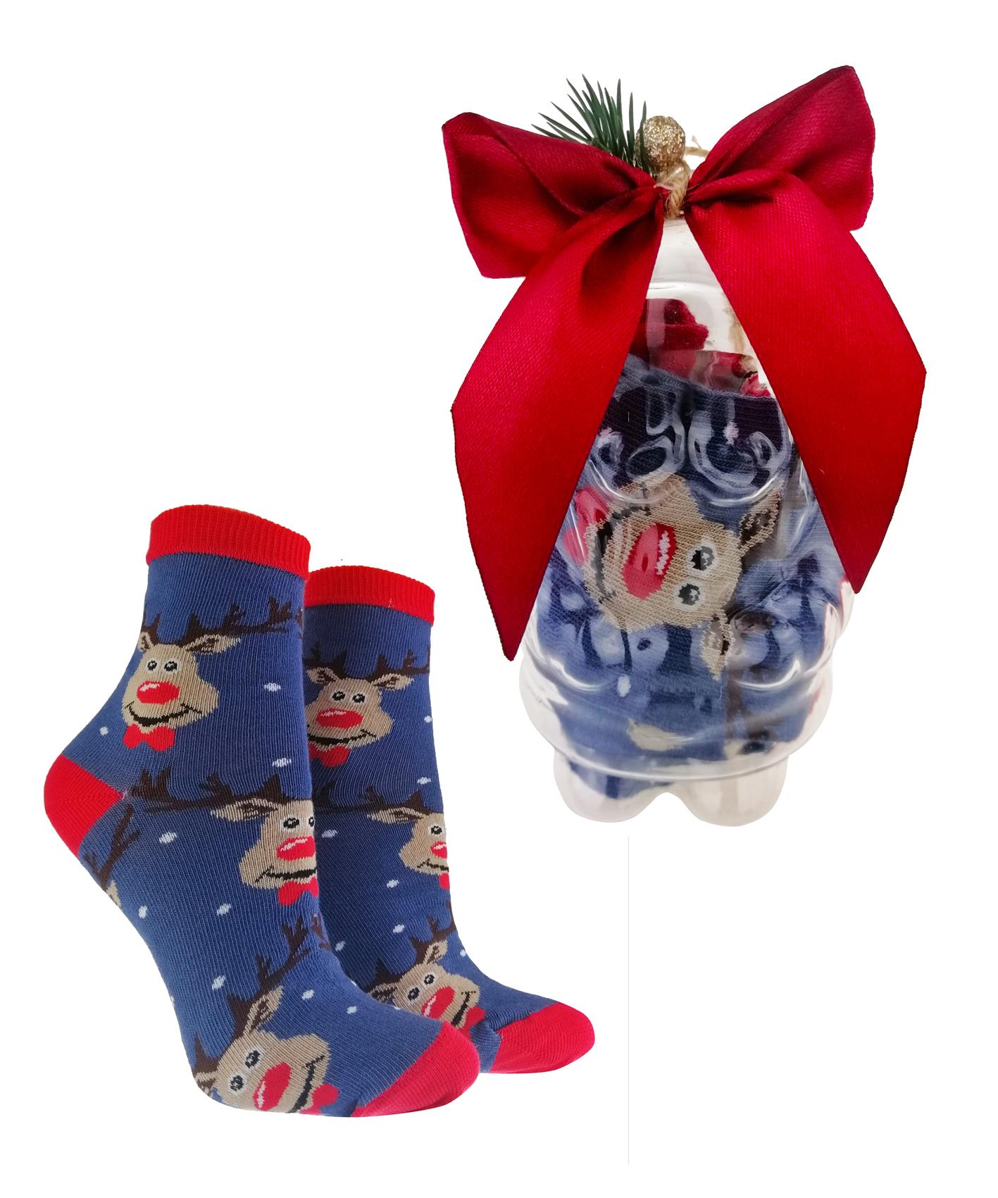 Bombka ze Skarpetami Świątecznymi dziecięcymi na PREZENT
