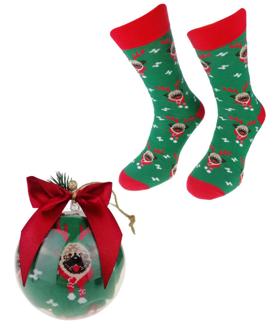 Bombka ze Skarpetami Świątecznymi na PREZENT