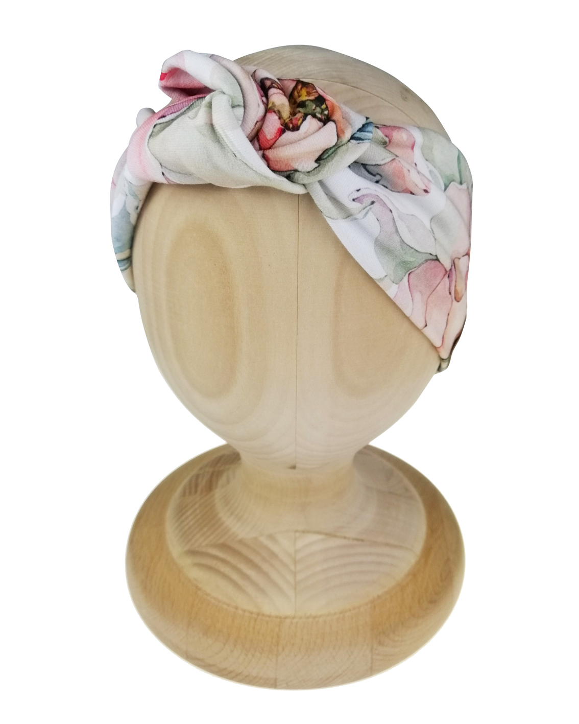 Opaska twistband wzór magnolia