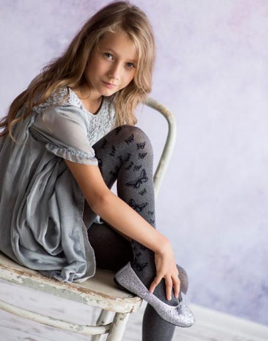 Rajstopy dziewczęce marki KNITTEX model BEAUTY 50 DEN