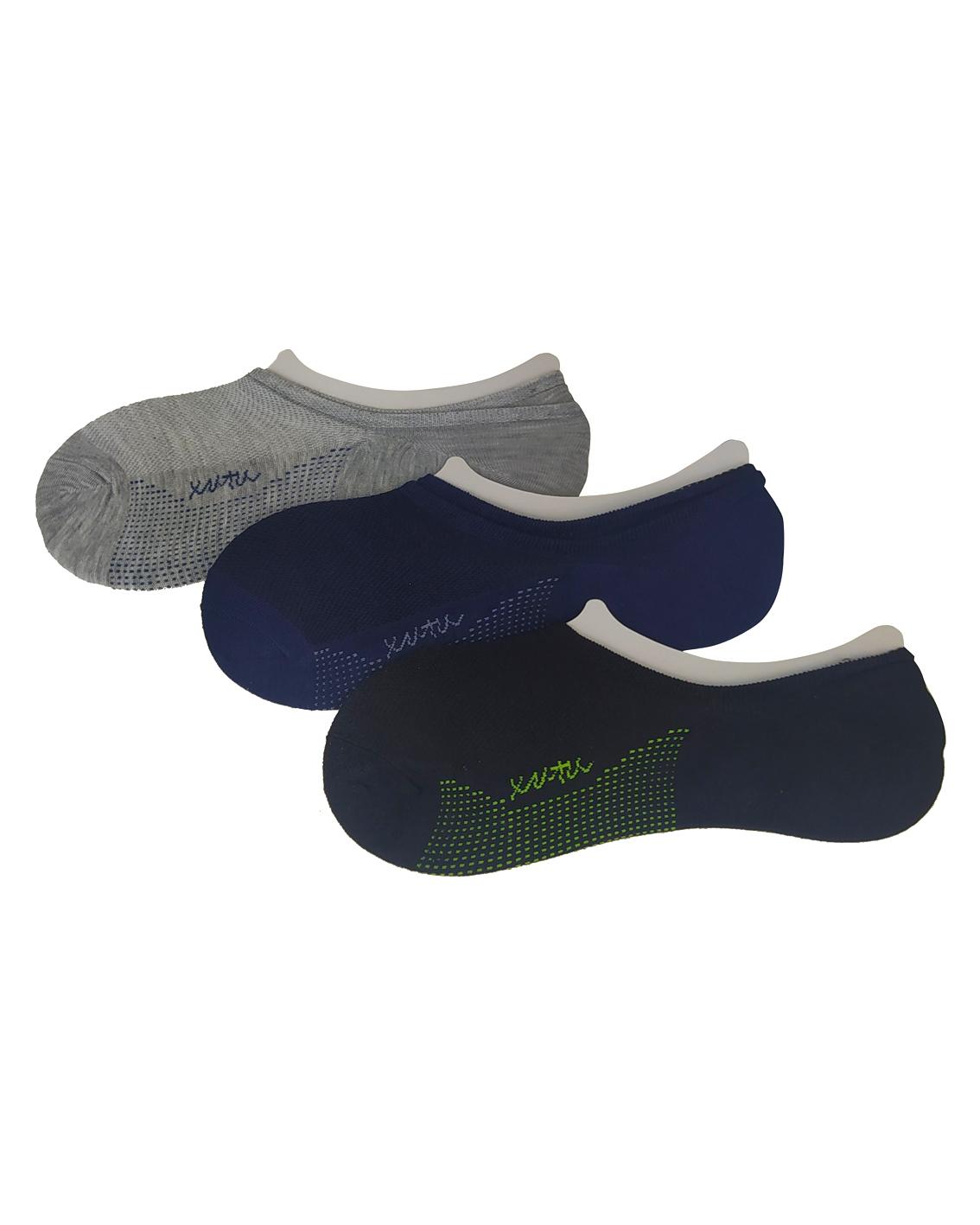 Stopki męskie bawełniane. Stopki zostały uszyte z wysokiej jakości, przepuszczającej powietrze bawełny. Stopki posiadają na pięcie wkładkę sylikonową zapobiegająca zsunięciu skarpetki z pięty.
